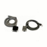 Datalogic CAB-434 - RS232 Pwr 9p Fem Coiled für Powerscan