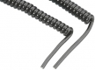 Zebra (Motorola) Anschlusskabel RS232 (Std Cable) (DB9 Female, TxD on 2, 9ft. Coiled) für LS2208, LS3408, DS6600