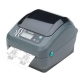 Zebra GX420D Thermodirekt 203DPI USB Schnittstelle Seriell Ethernet DISPENSER 64MB RTC R2.0